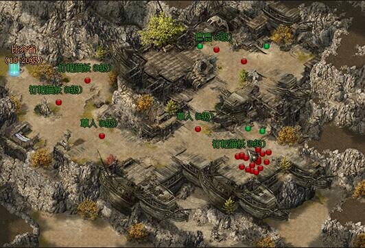49you魔龙诀-新手村地图